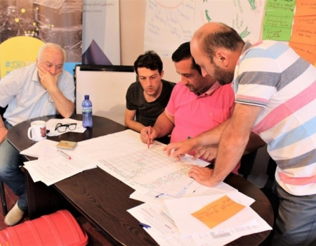 EU-supported Training on Project Writing for LAG Board members was held in Keda